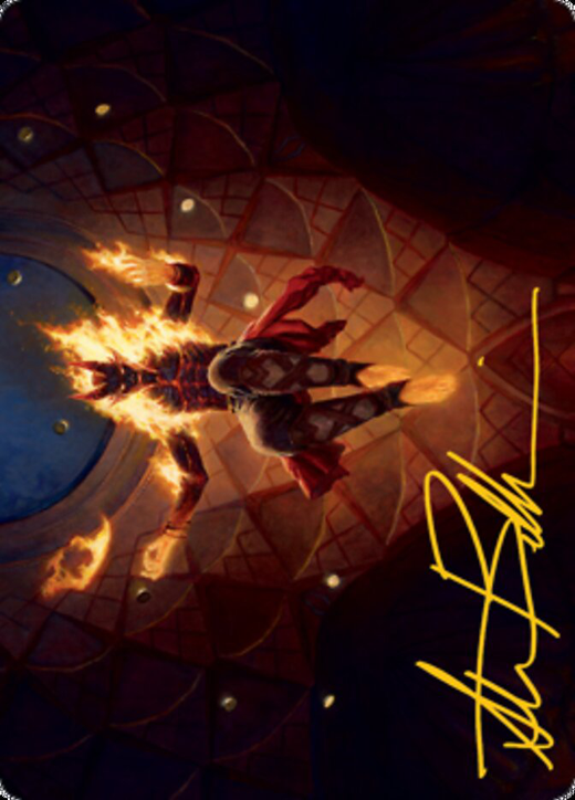 Yusri, Fortune's Flame Card // Yusri, Fortune's Flame Card image