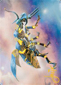 Zabaz, the Glimmerwasp Card // Zabaz, the Glimmerwasp Card image