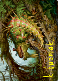 Blex, Vexing Pest Card // Blex, Vexing Pest Card image