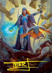 Kasmina, Enigma Sage Card // Kasmina, Enigma Sage Card image