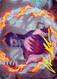 Rootha, Mercurial Artist Card // Rootha, Mercurial Artist Card image