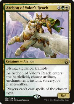 Archon of Valor's Reach image