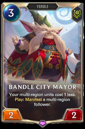 Bandle City Mayor image