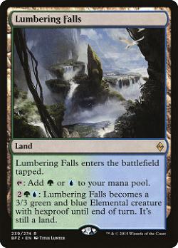 Lumbering Falls image