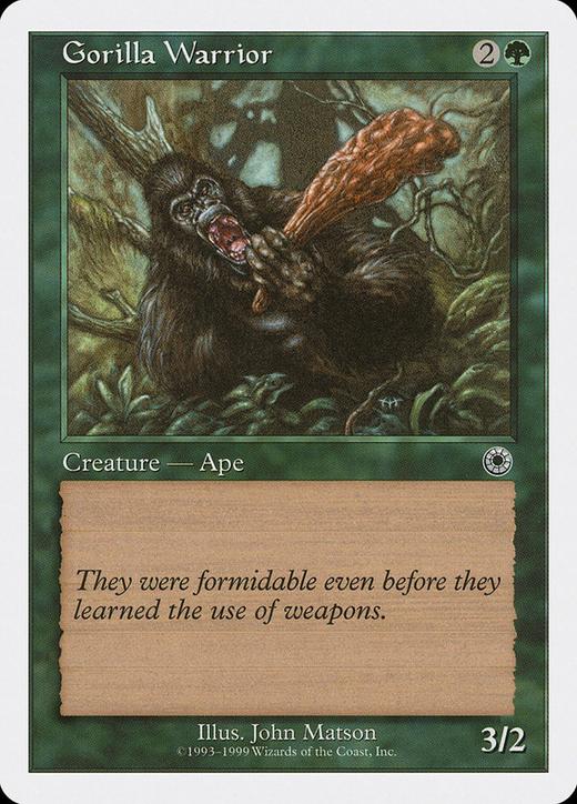 Gorilla Warrior image