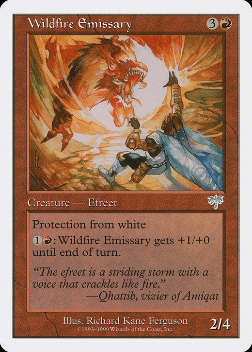 Wildfire Emissary image