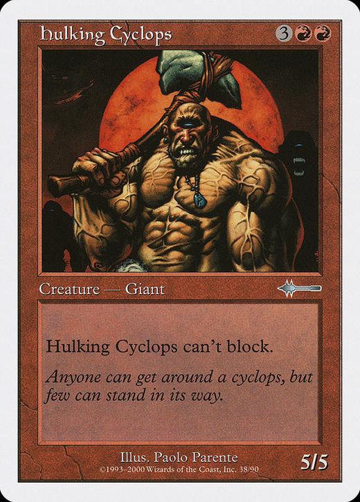 Hulking Cyclops image