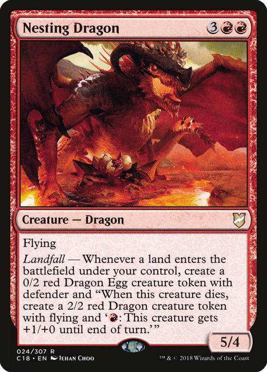 Nesting Dragon image
