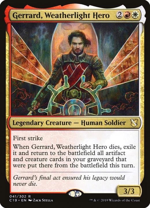 Gerrard, Weatherlight Hero?&width=200