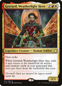 Gerrard, Weatherlight Hero