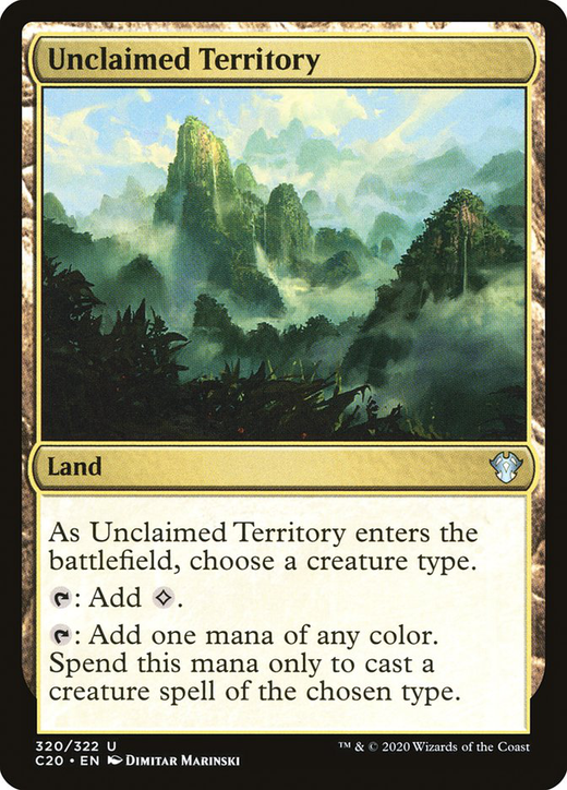 Unclaimed Territory image