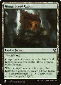 Gingerbread Cabin image