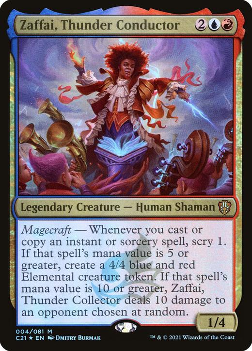 Zaffai, Thunder Conductor image
