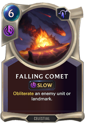 Falling Comet image