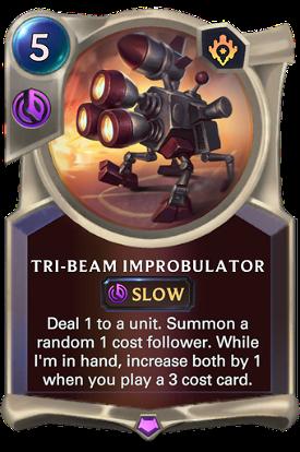 Tri-beam Improbulator image