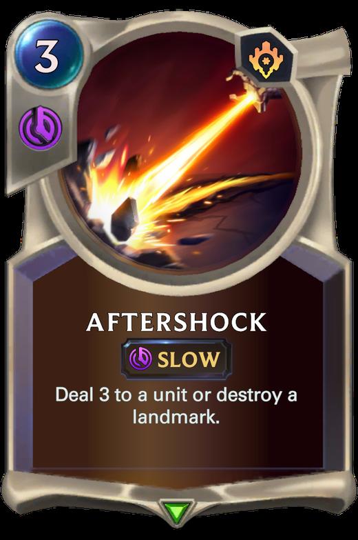 Aftershock image