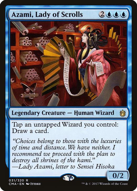 Azami, Lady of Scrolls?&width=200
