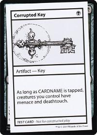 Corrupted Key image
