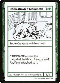 Domesticated Mammoth image