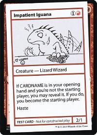 Impatient Iguana image