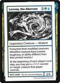 Louvaq, the Aberrant image