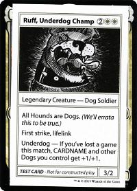 Ruff, Underdog Champ image