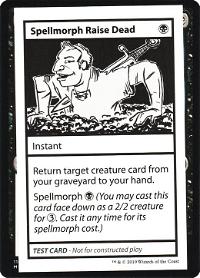 Spellmorph Raise Dead image