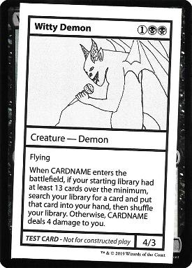 Witty Demon image