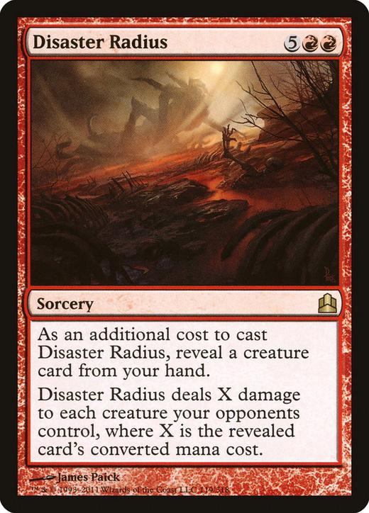 Disaster Radius image