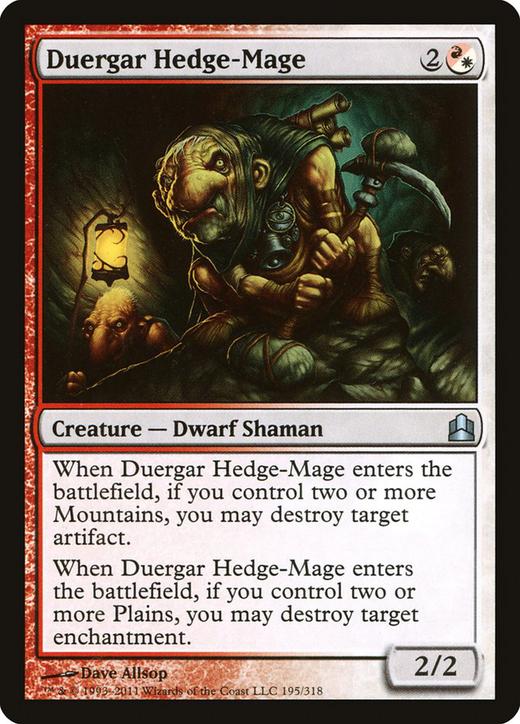 Duergar Hedge-Mage