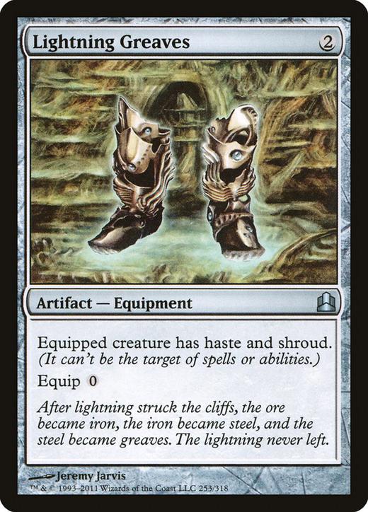 Lightning Greaves image