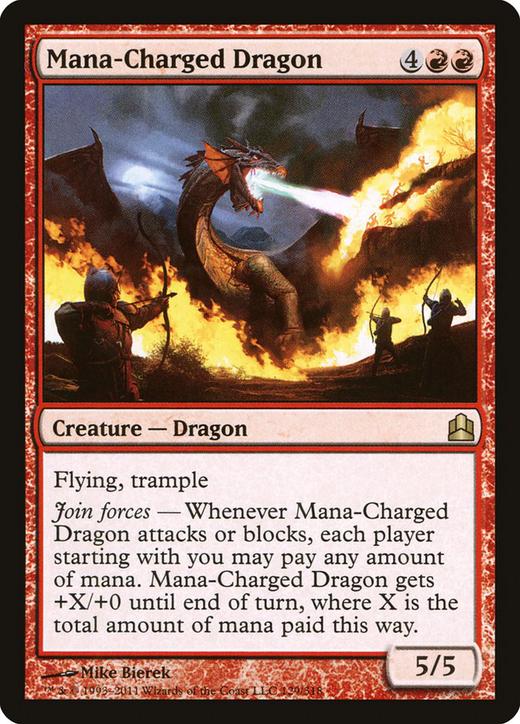 Mana-Charged Dragon image