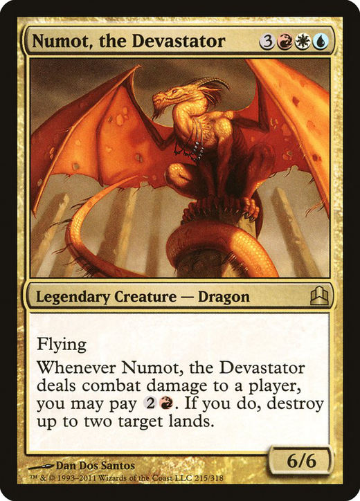 Numot, the Devastator image