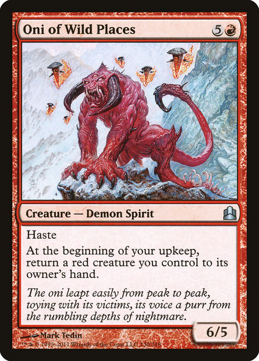 Oni of Wild Places image