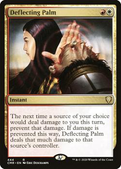 Deflecting Palm image