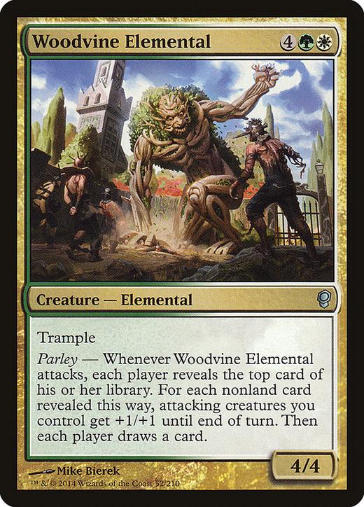 Woodvine Elemental image