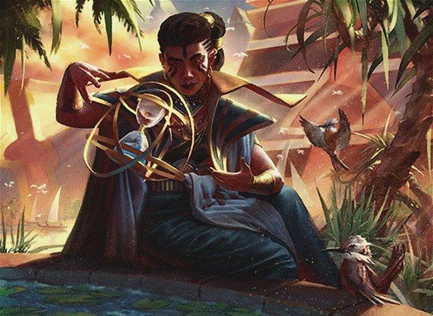 Magic Card Vizier of Tumbling Sands Amonkhet MTG