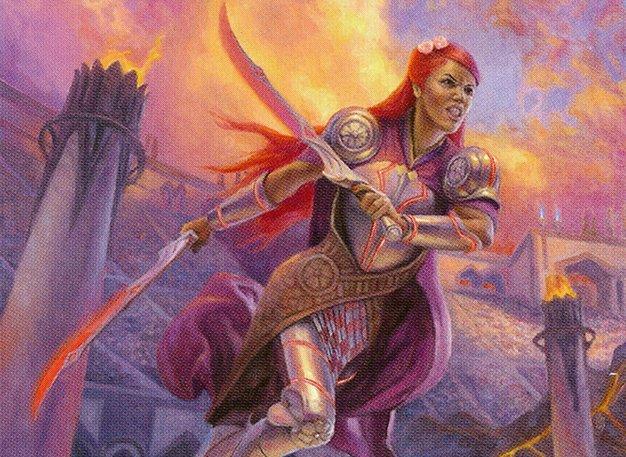 Decks tempo no Commander - Najeela, the Blade-Blossom