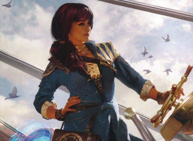 Blue Moon no Commander: Jhoira, Capitã do Bons Ventos