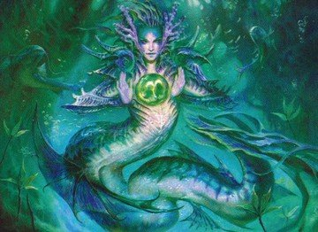 The Commander with Scapeshift - Tatyova, Benthic Druid