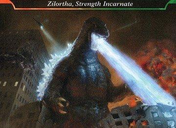 Conteúdo de booster de colecionador, showcases, Godzilla e Commander de Ikoria