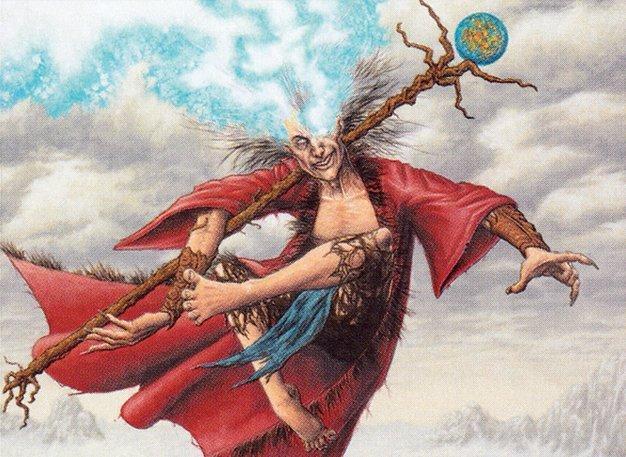 O Commander com Reservatório do Fluxo de Éter - Zur the Enchanter