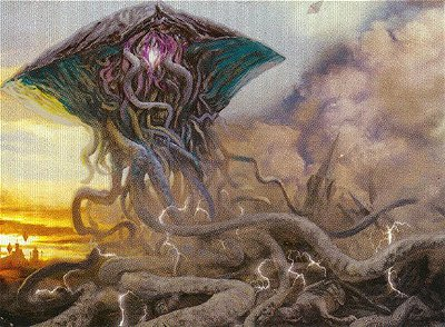 Emrakul and the origin of life in the Multiverse.