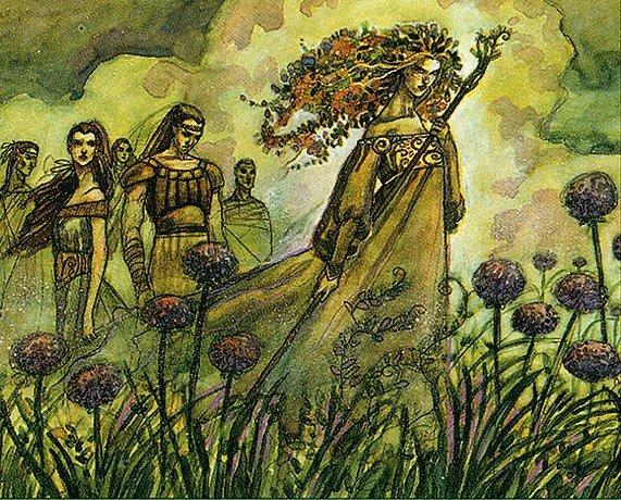 Priest of Titania - Magic: the Gathering MTG
