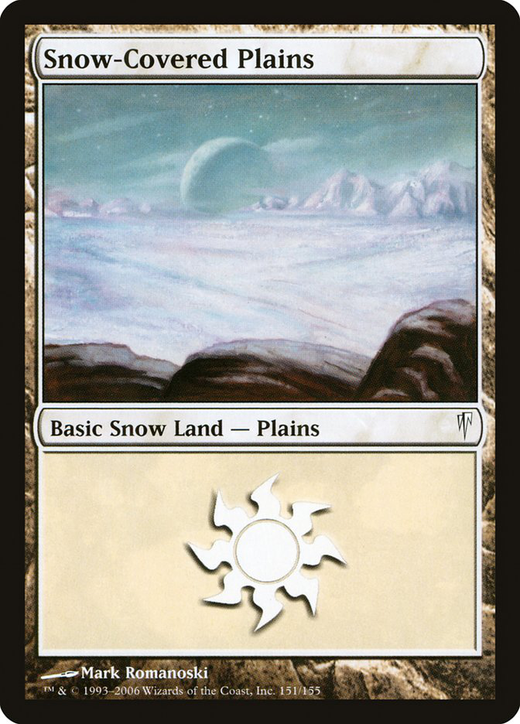 Snow-Covered Plains image