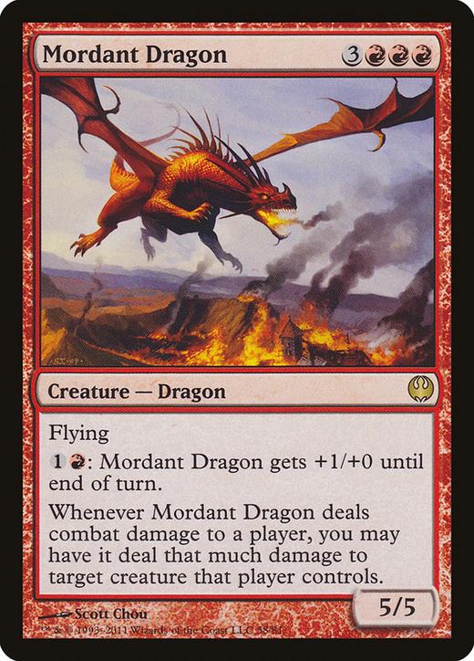 Mordant Dragon image