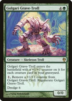 Golgari Grave-Troll image