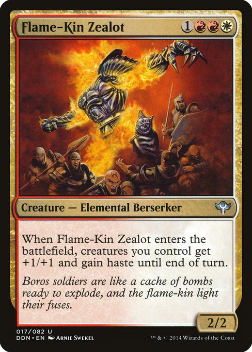 Flame-Kin Zealot image
