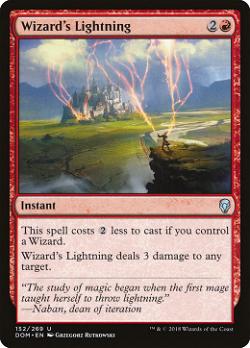 Wizard's Lightning image