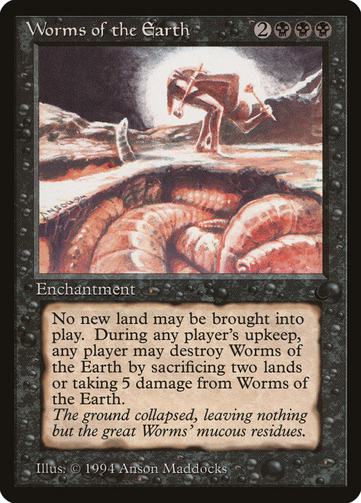 Worms of the Earth image
